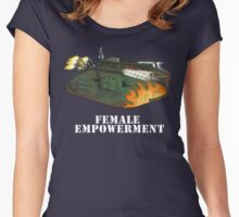 Female Empowerment Women's Fitted Scoop T-Shirt