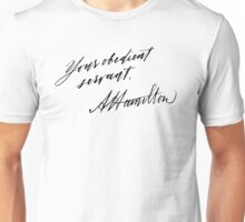 Your Obedient Servant, A. Ham Unisex T-Shirt