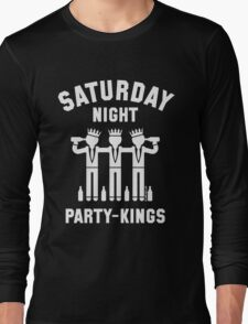 Saturday Night Party-Kings (White) Long Sleeve T-Shirt