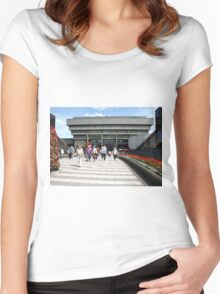 The Old Library Women's Fitted Scoop T-Shirt
