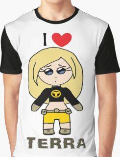 I ❤ Terra - Teen Titans Graphic T-Shirt