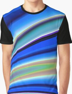 Abstract Fractal Colorways 01BL Graphic T-Shirt