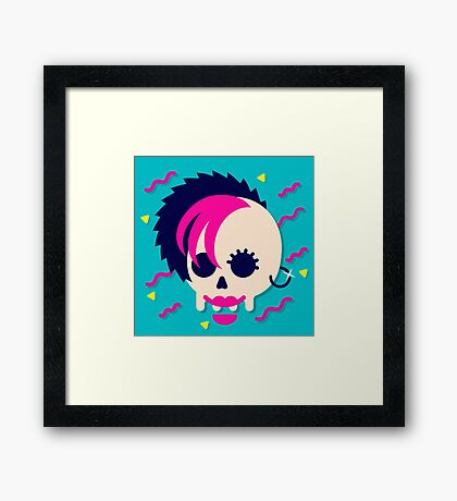 Like gag me with some worms! Framed Print
