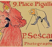 Vintage poster - Photagrapher Sescau by mosfunky