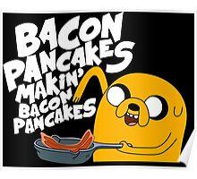 Bacon Pancake  Poster
