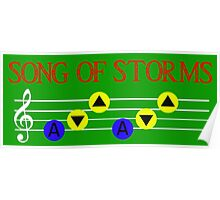Song of Storms Poster