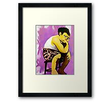 Gary Muppet Portrait Framed Print