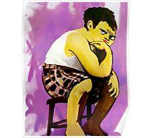 Gary Muppet Portrait Poster