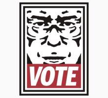 Bernie Obey Shirt - Shepard Fairey Endorses Bernie Sanders One Piece - Long Sleeve