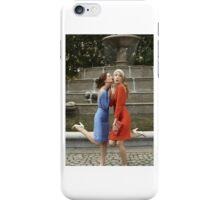 Blair Waldorf and Serena van der Woodsen  iPhone Case/Skin