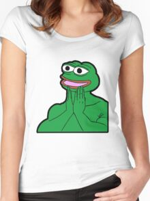 Feels Good Man Women's Fitted Scoop T-Shirt