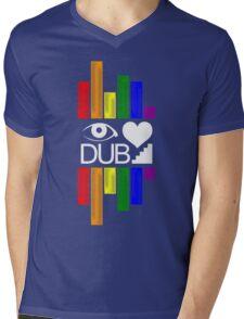 Dubstep Love Mens V-Neck T-Shirt