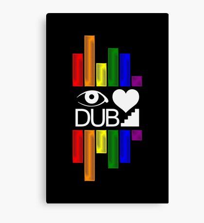 Dubstep Love Canvas Print