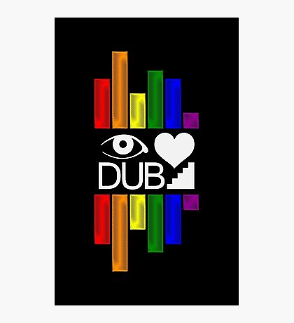 Dubstep Love Photographic Print
