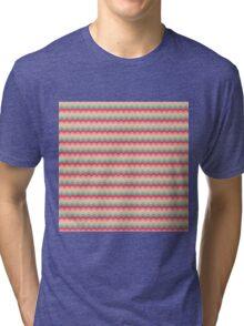 Sugar Dust Wave Pattern Tri-blend T-Shirt