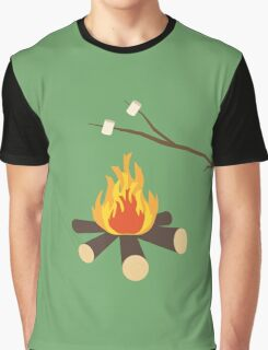 Campfire with marshmallows Graphic T-Shirt