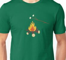 Campfire with marshmallows Unisex T-Shirt