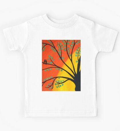 Birds in Tree Kids Tee