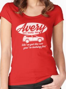 It's On The Lot! Women's Fitted Scoop T-Shirt