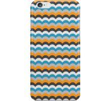 Royal Blue Wave Pattern iPhone Case/Skin