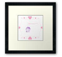 Quaggan's Valentine Framed Print
