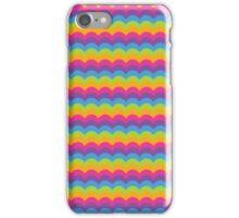 Bright Hue Wave Pattern iPhone Case/Skin