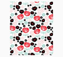 Flowers - red white mint by Andrea Lauren  Classic T-Shirt