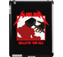 Mjolnir - Killeth 'em All iPad Case/Skin