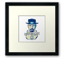I'm the one who knocks - Heisenberg Framed Print