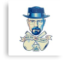 I'm the one who knocks - Heisenberg Metal Print