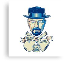 I'm the one who knocks - Heisenberg Canvas Print