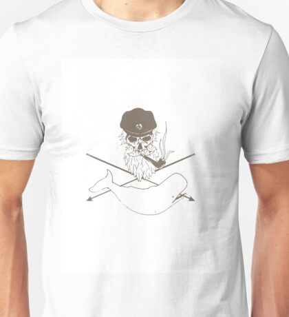 The hunt for the white whale Unisex T-Shirt