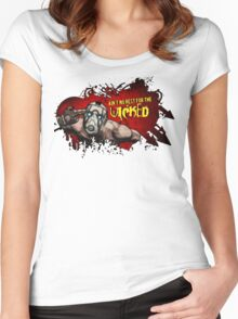 Ain't no rest for the wicked - Borderlands Women's Fitted Scoop T-Shirt