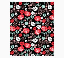 Flowers - love red black by andrea lauren  Classic T-Shirt