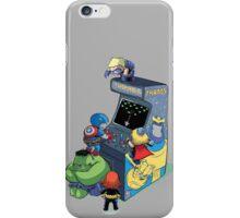 superhero kids playing game iPhone Case/Skin