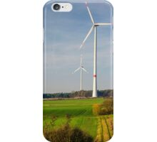 Windpark, Bavaria, Germany. iPhone Case/Skin