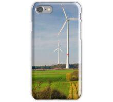 Windpark, Bavaria, Germany. iPhone Case/Skin