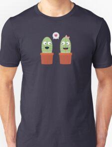 Cacti in love Unisex T-Shirt