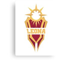Leona's Shield  Canvas Print