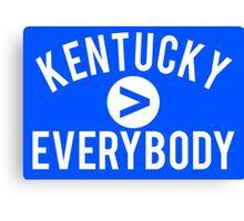 Kentucky > Everbody - Go Wildcats Canvas Print