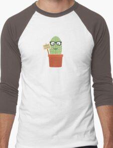 Cactus free hugs Men's Baseball ¾ T-Shirt