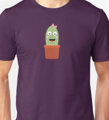 Cactus with ribbon Unisex T-Shirt