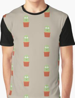 Smiling cactus Graphic T-Shirt