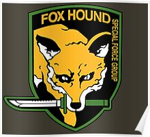 Metal Gear Solid - Fox Hound Emblem Poster