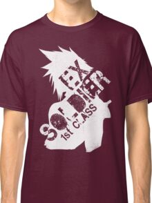 Cloud Strife ex-SOLDIER white Classic T-Shirt