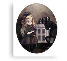 Bella - Creepy Girls with Creepy Dolls #3 Canvas Print