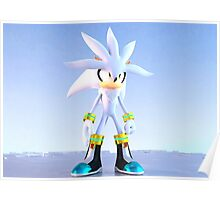 Silver The Hedgehog Poster