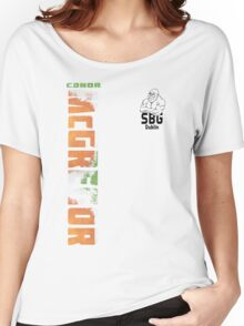 Conor McGregor SBG Dublin (check artist notes for limited edition link)  Women's Relaxed Fit T-Shirt