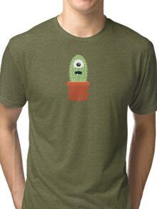 One eyed cactus Tri-blend T-Shirt