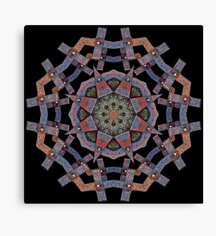 Big Butch Kaleidoscope Canvas Print